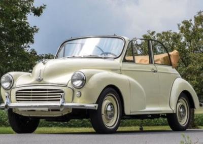 Hettie the 1958 Morris Minor Convertible